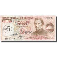 Billet, Uruguay, 5 Nuevos Pesos On 5000 Pesos, KM:57, NEUF - Uruguay