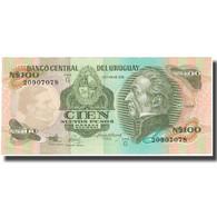 Billet, Uruguay, 100 Nuevos Pesos, KM:62a, SPL - Uruguay
