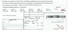Avis Pour Retirer Un Envoi Recommandé - Documents De La Poste