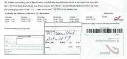 Avis Pour Retirer Un Envoi Recommandé - Documenti Della Posta