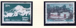 1979 - NEPAL  -  Mi. Nr.  378+379 - USED - (CW4755.43) - Nepal