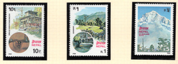 1980 - NEPAL  -  Mi. Nr.  401/403 - NH - (CW4755.43) - Nepal