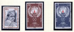1978 - NEPAL  -  Mi. Nr.  368/369+371 - USED - (CW4755.43) - Nepal