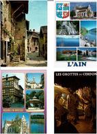 01 / AIN /  Lot De 90 Cartes Postales Modernes écrites - 5 - 99 Postcards