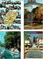 09 / ARIEGE /  Lot De 90 Cartes Postales Modernes écrites - 5 - 99 Postcards