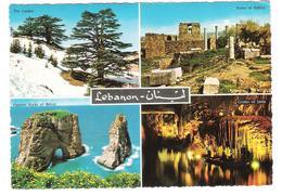 Libanon - Liban - Lebanon - Byblos - Grotto Of Jeita - Pigeons Rock Of Beirut - Nice Stamp Stamps Timbre - Libanon