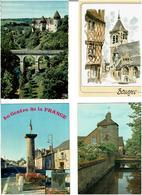 18 / CHER /  Lot De 90 Cartes Postales Modernes écrites - 5 - 99 Postcards