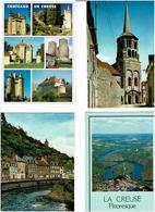 23 / CREUSE /  Lot De 90 Cartes Postales Modernes écrites - 5 - 99 Postcards