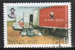 Swaziland  1999 Single E1 Stamp From The Postal Union  Set. - Swaziland (1968-...)
