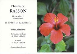 Calendrier 2013 - Fleur - Pharmacie Rasson - Petit Format : 2001-...