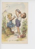 Hep ! Ya Du Rab Pour Bibi ? - Germaine Bouret Illustrateur (vigne Raisin Vin Enfant Garçon Bouteille) - Bouret, Germaine
