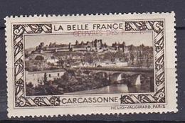 Timbre Erinophilie  LA BELLE FRANCE  CARCASSONNE - Autres