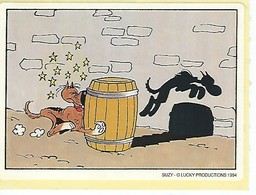 Rantanplan (Lucky Luke) - Vignettes Autocollantes