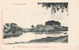 49 Villeveque Les Moulins De Villeveque Sur Le Loir Moulin , Anjou Illustré - Other Municipalities