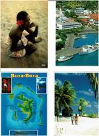 POLYNESIE FRANCAISE /  Lot De 45 Cartes Postales Modernes écrites - Cartes Postales