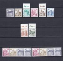 BRD - 1977 -  Michel Nr. 913/920 + C/D - Postfrisch - BRD