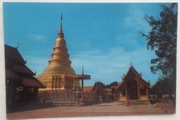 (260) Chedee - War Phrathat-Hariphoon-chai In Lampoon - Thaïlande