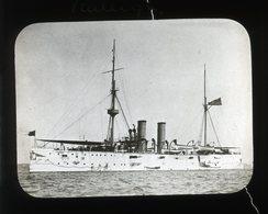HMS Raleigh - UNITED KINGDOM - Magic Lantern Slide (lanterne Magique) - Plaques De Verre