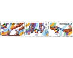 Ref. 189686 * MNH * - ALBANIA. 2005. MEDITERRANEAN GAMES IN ALMERIA . JUEGOS DEL MEDITERRANEO EN ALMERIA - Gymnastik