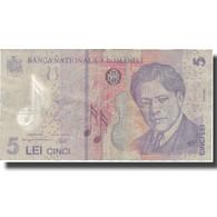Billet, Roumanie, 5 Lei, 2005, 2005-07-01, KM:118a, TB - Roumanie