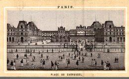 CHROMO CHOCOLAT EXPRESS GRONDARD PARIS  PARIS  PLACE DU CARROUSEL - Chocolate