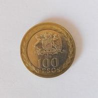 100 Pesos Münze Aus Chile Von 2016 (sehr Schön) - Cile