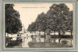 CPA - CHAUSSOY-EPAGNY (80) - Aspect Du Quartier De La Mare-abreuvoir Au Début Du Siècle - Francia