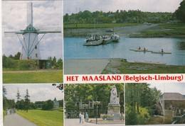 MAASLAND / MOLEN / WATERMOLEN / OVERZET - Maaseik