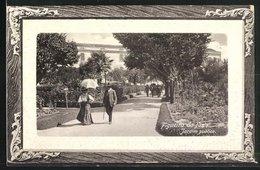 Passepartout-AK Figueira De Foz, Jardim Publico - Portugal