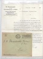 WO/   W.O.I : Transporterlaubnis   VOOR J.HASENBROEKX  LIER - Documents Historiques