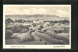 AK Jericho, Panoramic View, Häuser Und Berge - Palästina