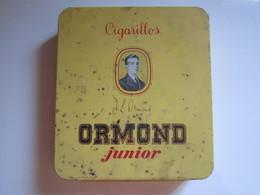 Ancienne Boite (vide) à Cigarillos ORMOND JUNIOR - Boîtes