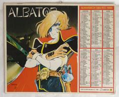 CALENDRIER ALMANACH DES PTT OBERTHUR 1985 ALBATOR - Agendas & Calendriers