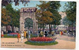 DEPT 73 : édit. L L N° 276 : Aix Les Bains L Arc De Triomphe De Campanus - Aix Les Bains