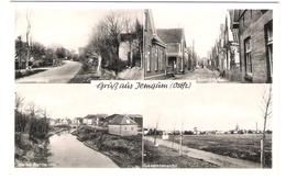 Deutschland - Jemgum - Ostfriesland - Alte Dorfansichten - Dorfstrasse - Deutschland