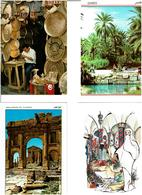 TUNISIE / Lot 750 C.P.M. écrites - Postkaarten