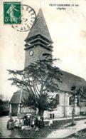 N°74918 -cpa Petit Couronne -l'église- - France