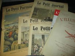 Petit Lot 1.5 Kg De Vieux Papiers. ( Journaux, Cpa, Buvard, Images, Chromos, Etiquettes Vin, Cartes, Ticket, Pub Timbres - Vieux Papiers