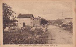 ANNAY - SUR - SEREIN  : (89) .  Gare Et Entrée Du Pays . - Gares - Sans Trains