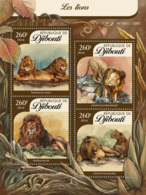 Djibouti 2016 Fauna  Lions - Djibouti (1977-...)
