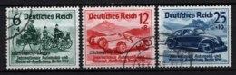 Germania Reich 1939 Unif.629A/C O/Used VF/F - Usati