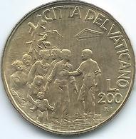 Vatican City - John Paul II - 1994 - 200 Lire - KM256 - Vaticaanstad