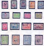 TURQUIA -  17 ESTAMPILLAS  (#4566) - 1858-1921 Imperio Otomano