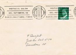 33539. Carta BARCELONA 1979. Rodillo Especial SALON AUTOMOVIL - 1931-Hoy: 2ª República - ... Juan Carlos I
