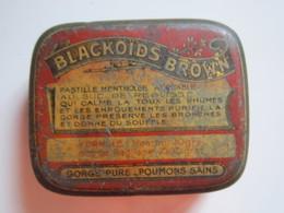 Ancienne Boite BLACKOÏDS BROWN P. De GENCY Pharmacien PARIS - Boîtes