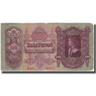 Billet, Hongrie, 100 Pengö, 1930, KM:98, TB+ - Hongrie