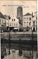 1 Postkaart  Mechelen Vismarkt Aa De Dijle  Malines Marché Aux Poissons Et La Dyle Uitg.Lagaert - Mechelen