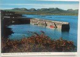 (265) Connemara - Roundstone Harbour And The Twelve Bens - Galway