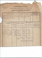 WO/   NEEROETEREN  UITTREKSEN VAN KADASTER 1894  VAN HEYMANS   1894 - Documents Historiques