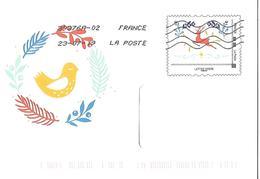 FRANCE 2019 PAP ENVELOPPE A FENETRE YOUPIX AYANT CIRCULE TB ETAT VOIR SCANS - Prêts-à-poster:  Autres (1995-...)